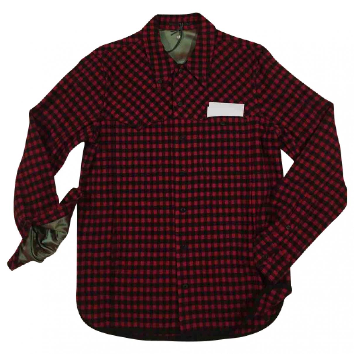Dondup \N Hemden in  Bunt Wolle