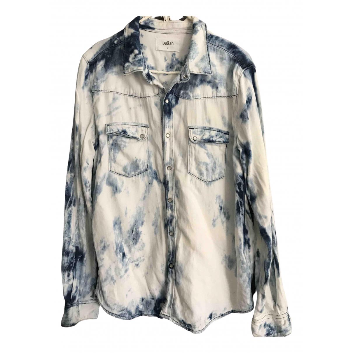 Ba&sh \N Blue Cotton  top for Women 38 FR