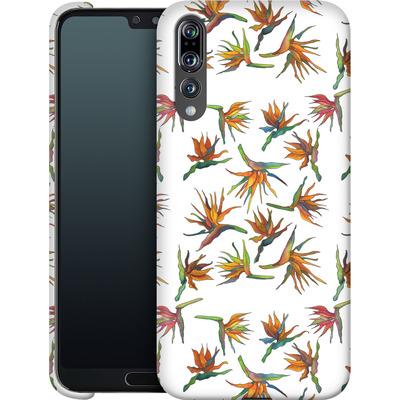 Huawei P20 Pro Smartphone Huelle - Paradise Flower Pattern von Kaitlyn Parker