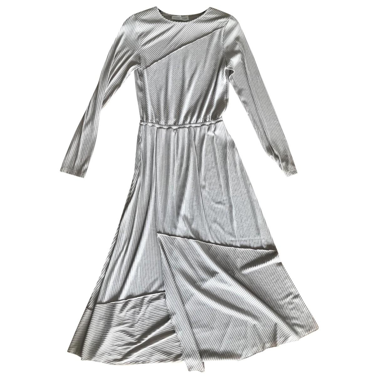 Mykke Hofmann \N Beige Cotton - elasthane dress for Women S International