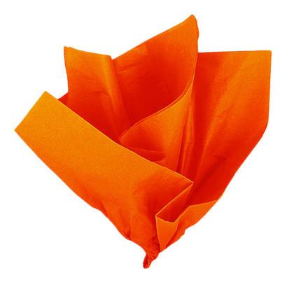 Feuilles de tissu orange, 26 x 20 pouces, 10 ct