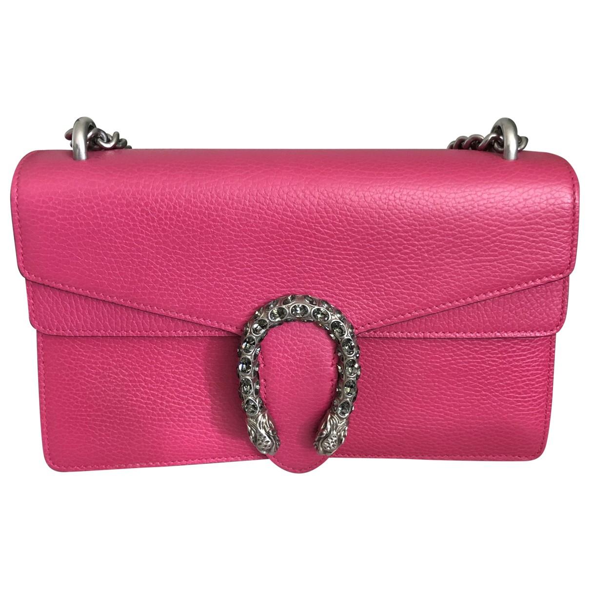 Gucci Dionysus Handtasche in  Rosa Leder