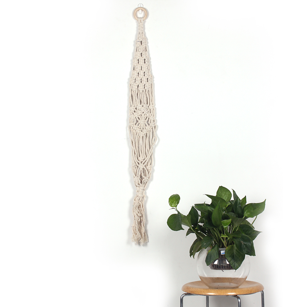 Tassels Cotton Knitting Bohemianism Style Decorative Tapestry