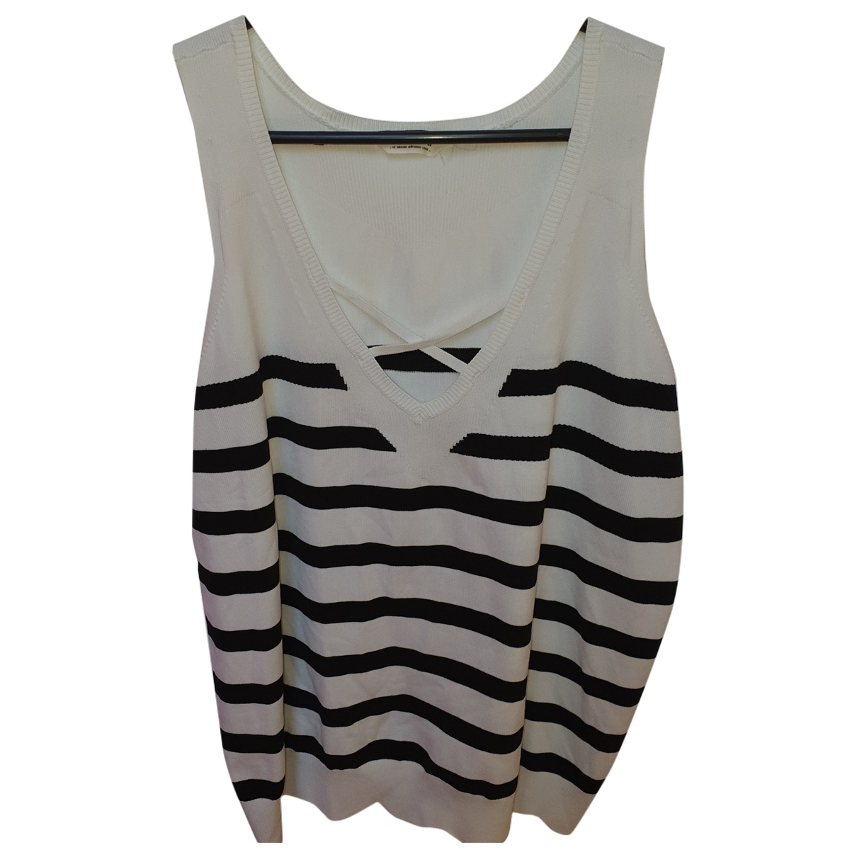 Non Signé / Unsigned \N Cotton  top for Women 42 FR