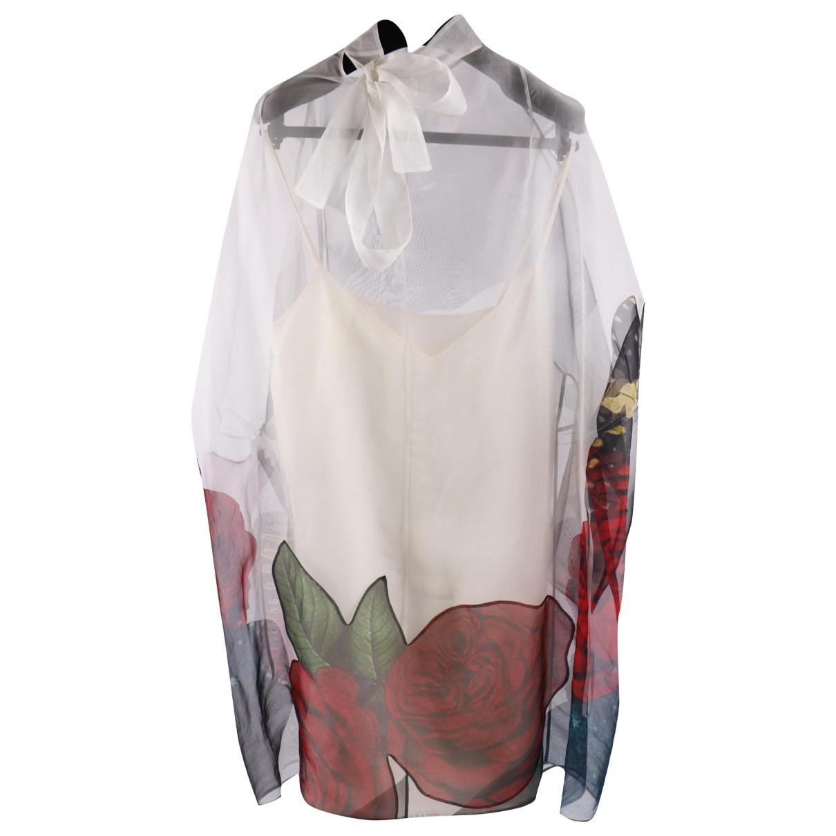 Valentino Garavani \N Multicolour Silk dress for Women 40 IT