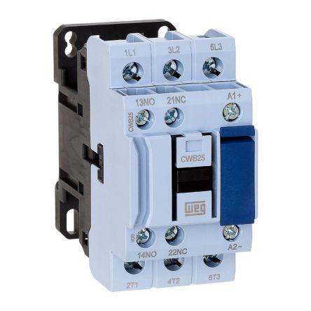 WEG 3 Pole Contactor - 25 A, 230 V ac Coil, 3NO, 11 kW