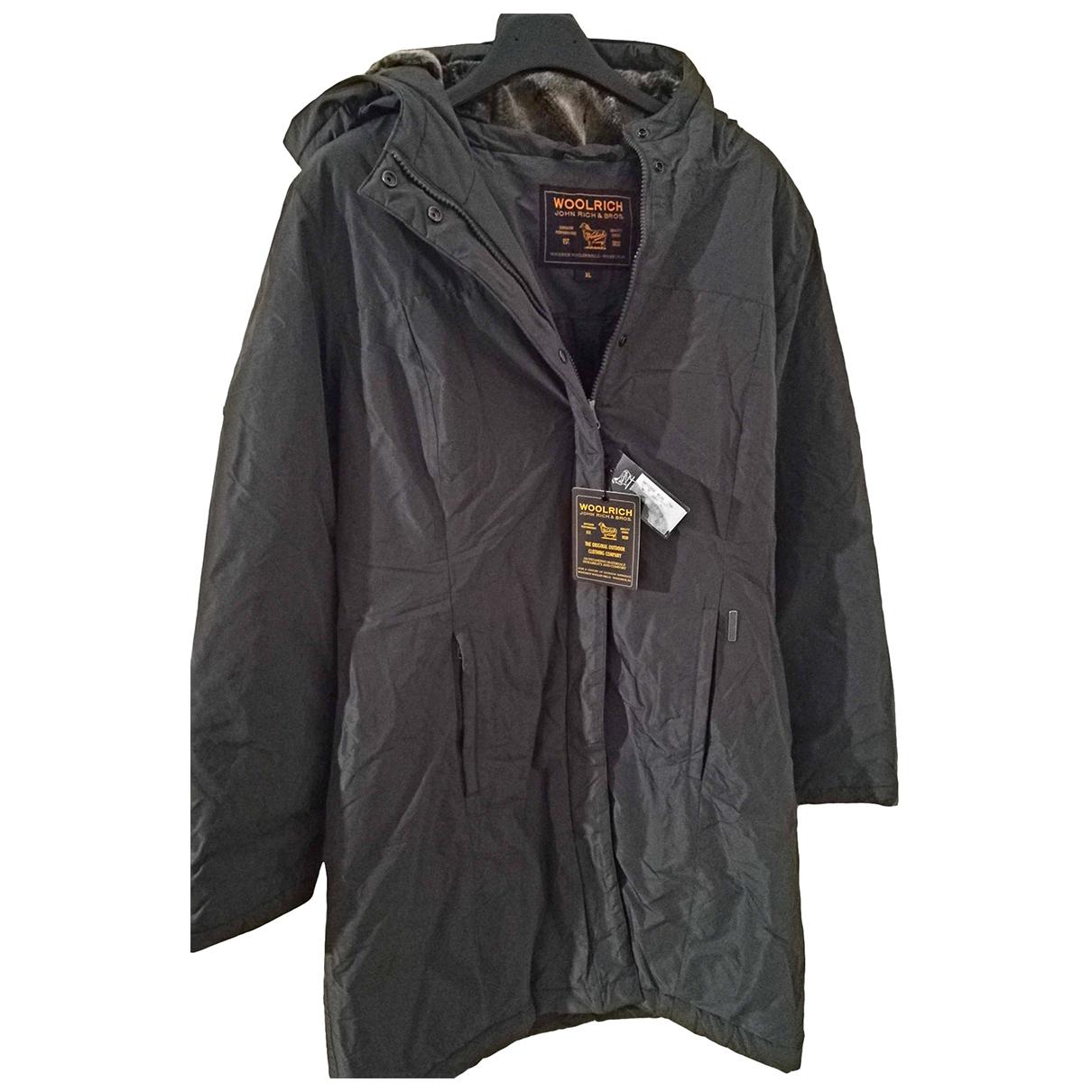 Woolrich - Manteau   pour femme - gris