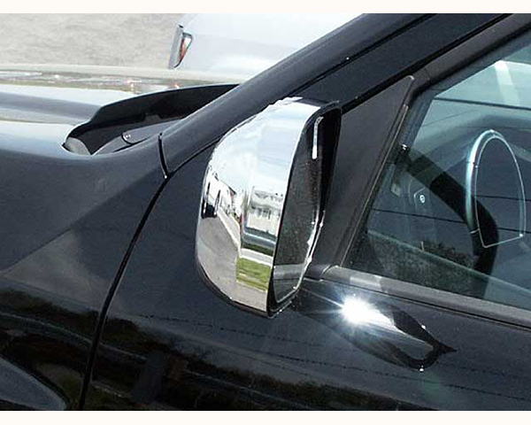 Quality Automotive Accessories Chrome Plated ABS Plastic 2-Piece Mirror Cover Set Honda Ridgeline 2011
