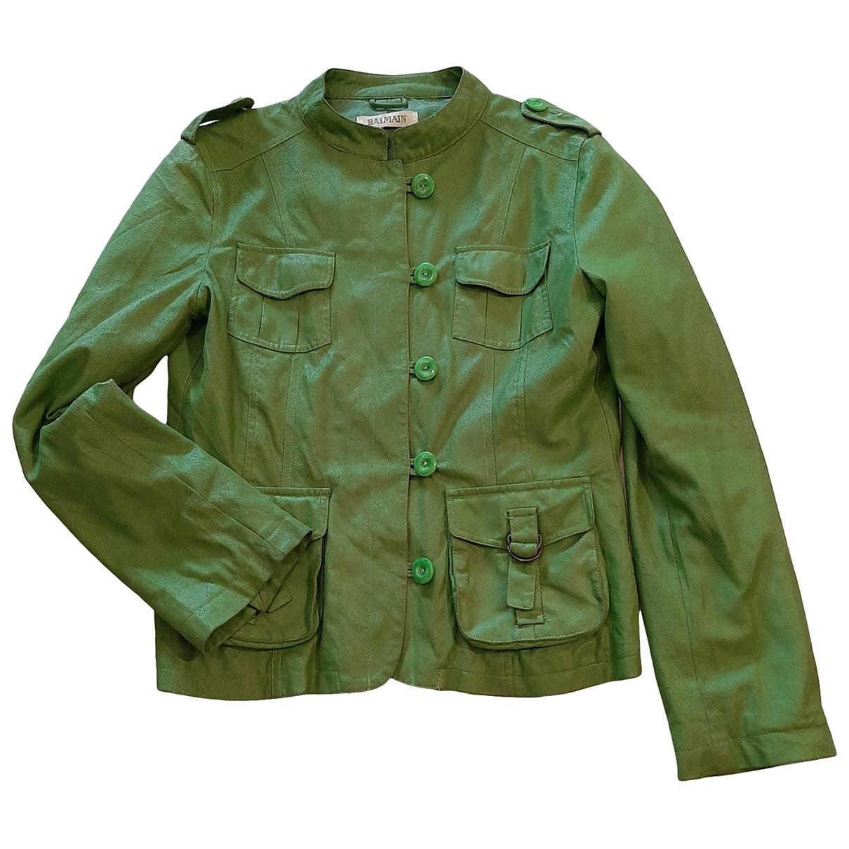 Balmain - Veste   pour femme - vert
