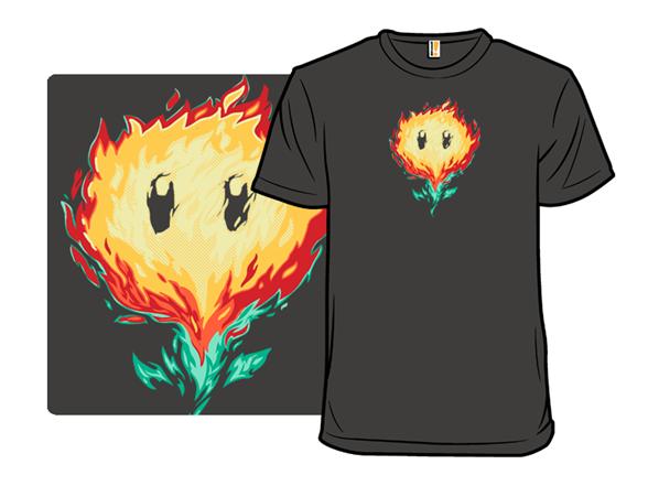 Floral Fire T Shirt