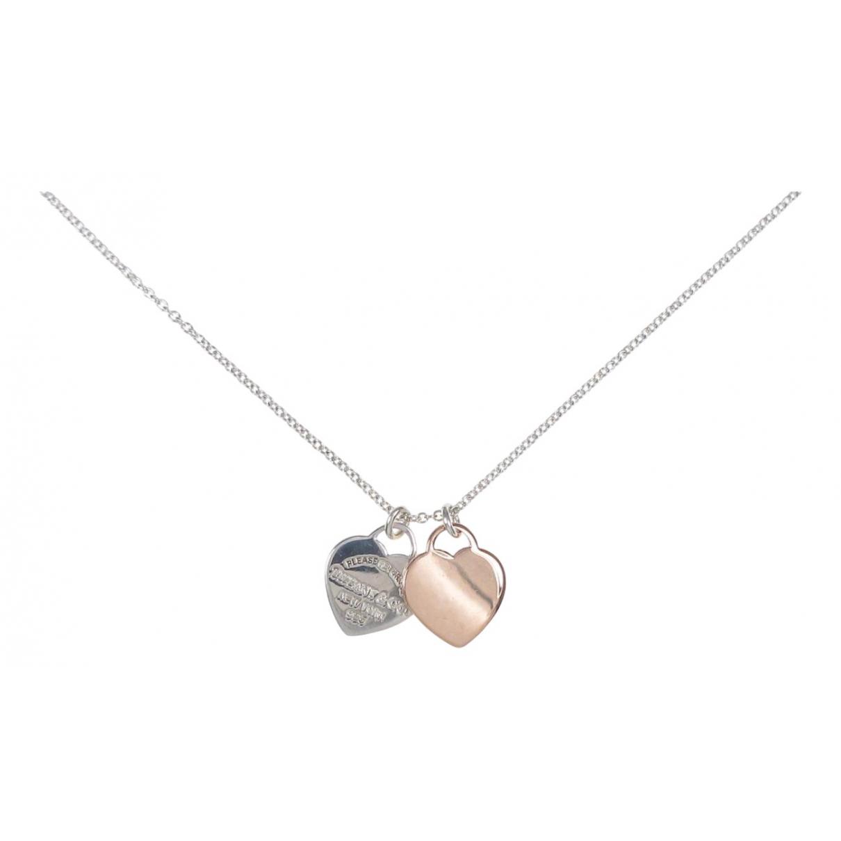 Tiffany & Co Return to Tiffany Kette in  Silber Silber