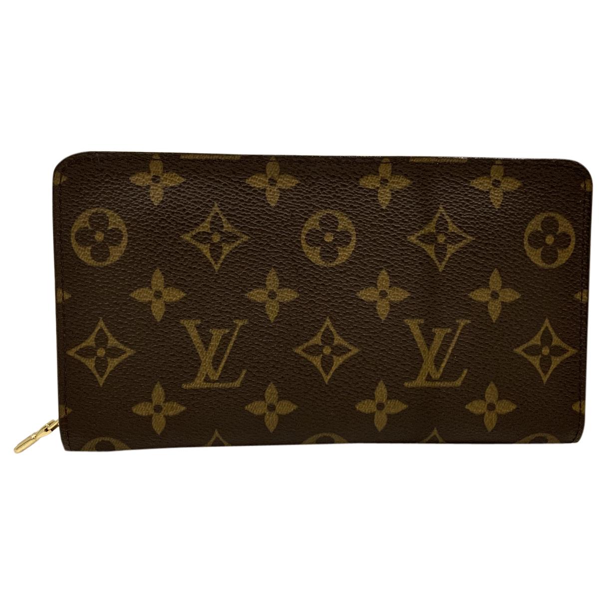 Louis Vuitton - Petite maroquinerie Ikat pour femme en cuir - marron