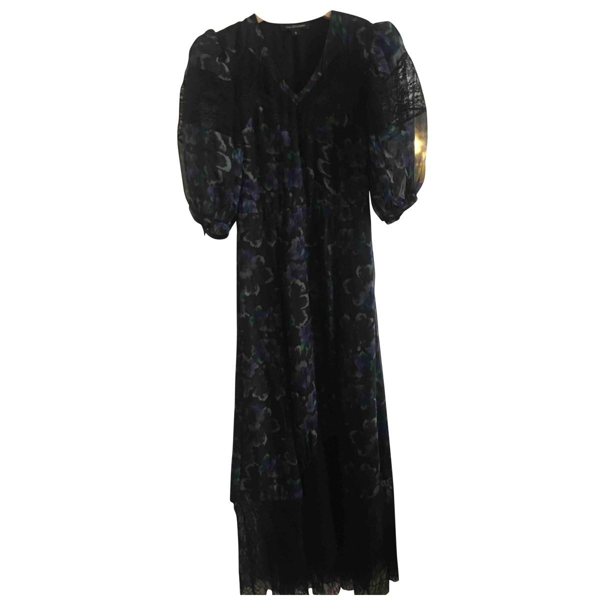Jill Stuart - Robe   pour femme en soie - noir