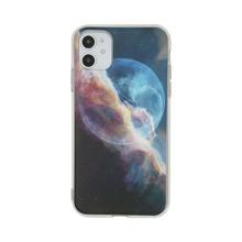1pc Cosmic Sky Print iPhone Case