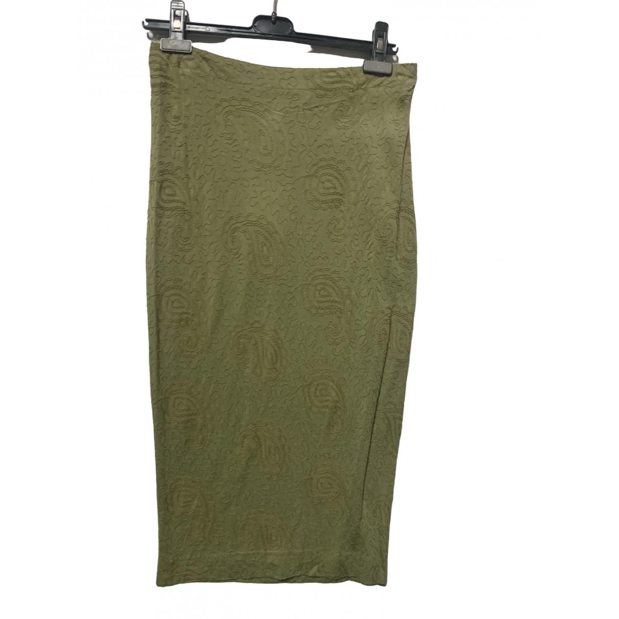 Jean Paul Gaultier \N Green skirt for Women 44 IT