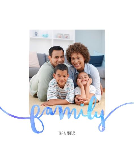 Family + Friends Canvas Print, 11x14, Home Décor -FamilyWatercolors