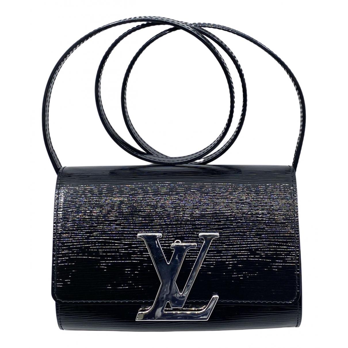 Louis Vuitton Louise Black Patent leather Clutch bag for Women \N