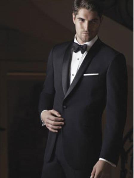 Braydon Black Ike Behar Tuxedo Jacket