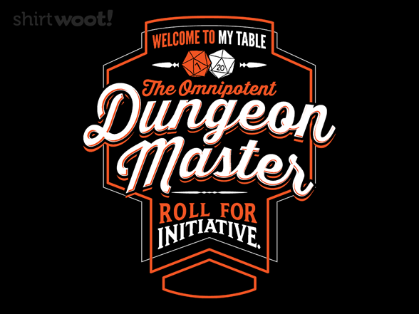 The Dungeon Master T Shirt