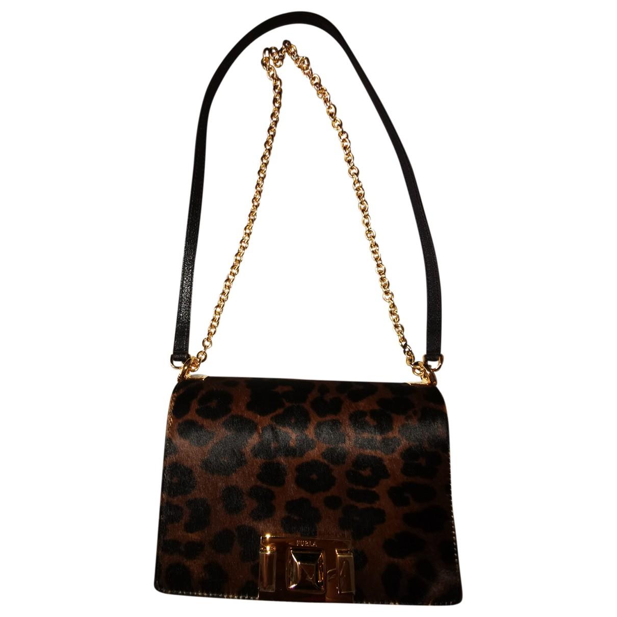 Furla N Black Leather handbag for Women N