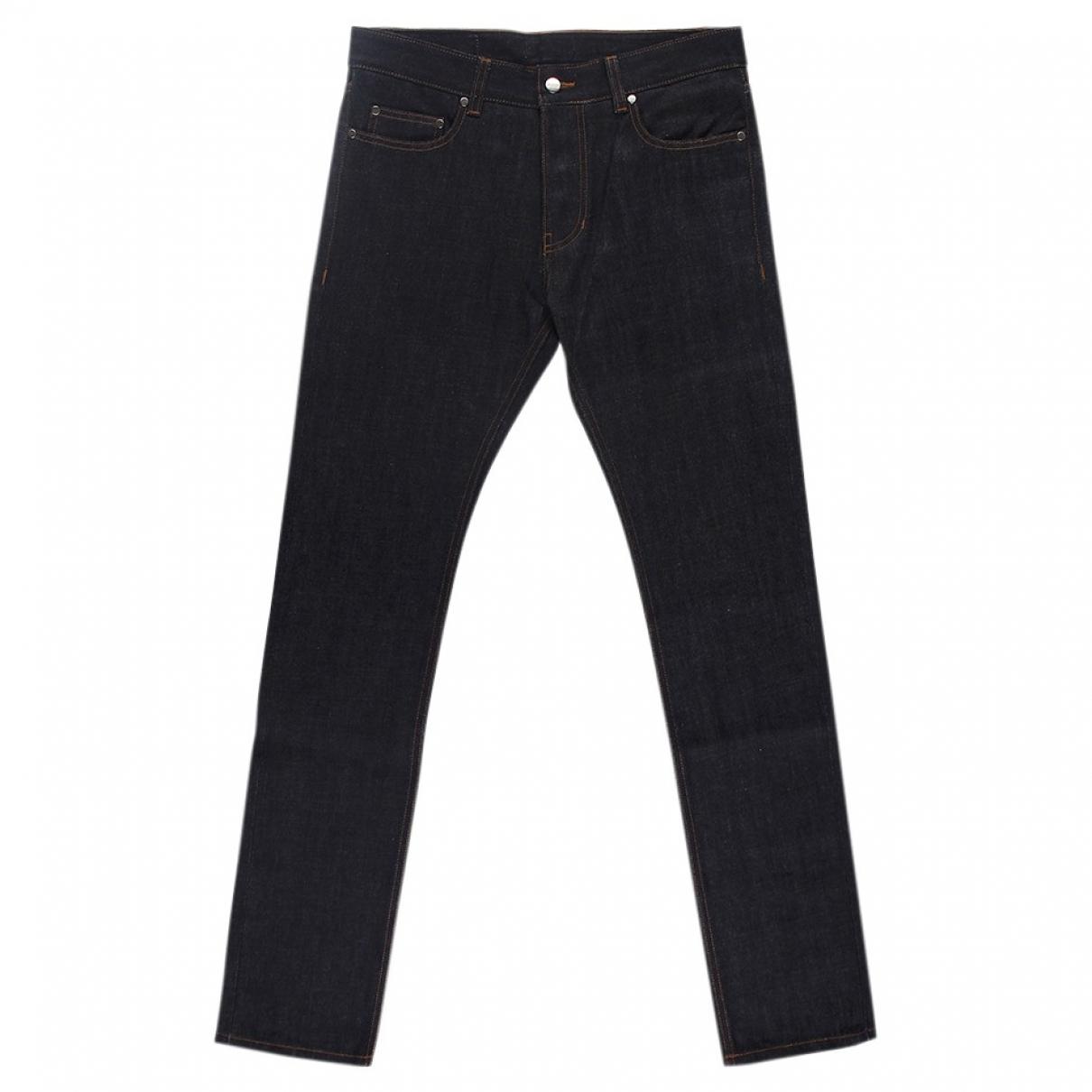 Ami \N Navy Cotton Jeans for Men 40 FR