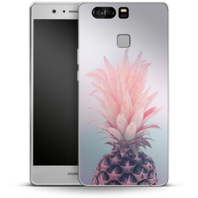 Huawei P9 Silikon Handyhuelle - Pastel Pineapple von Emanuela Carratoni