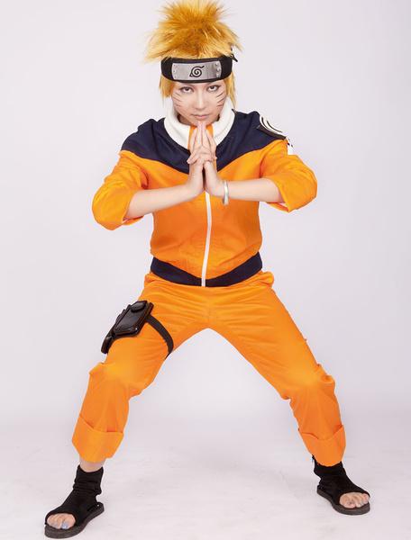 Milanoo Naruto Uzumaki Anime Halloween Cosplay Costume