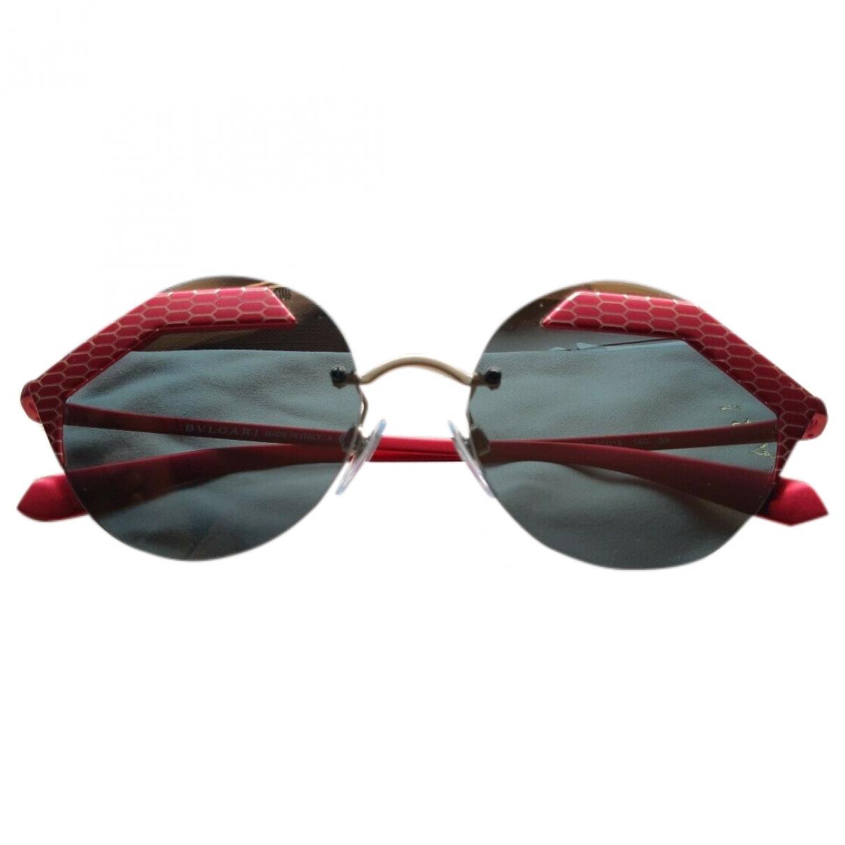 Bvlgari \N Sonnenbrillen in  Rot Kunststoff