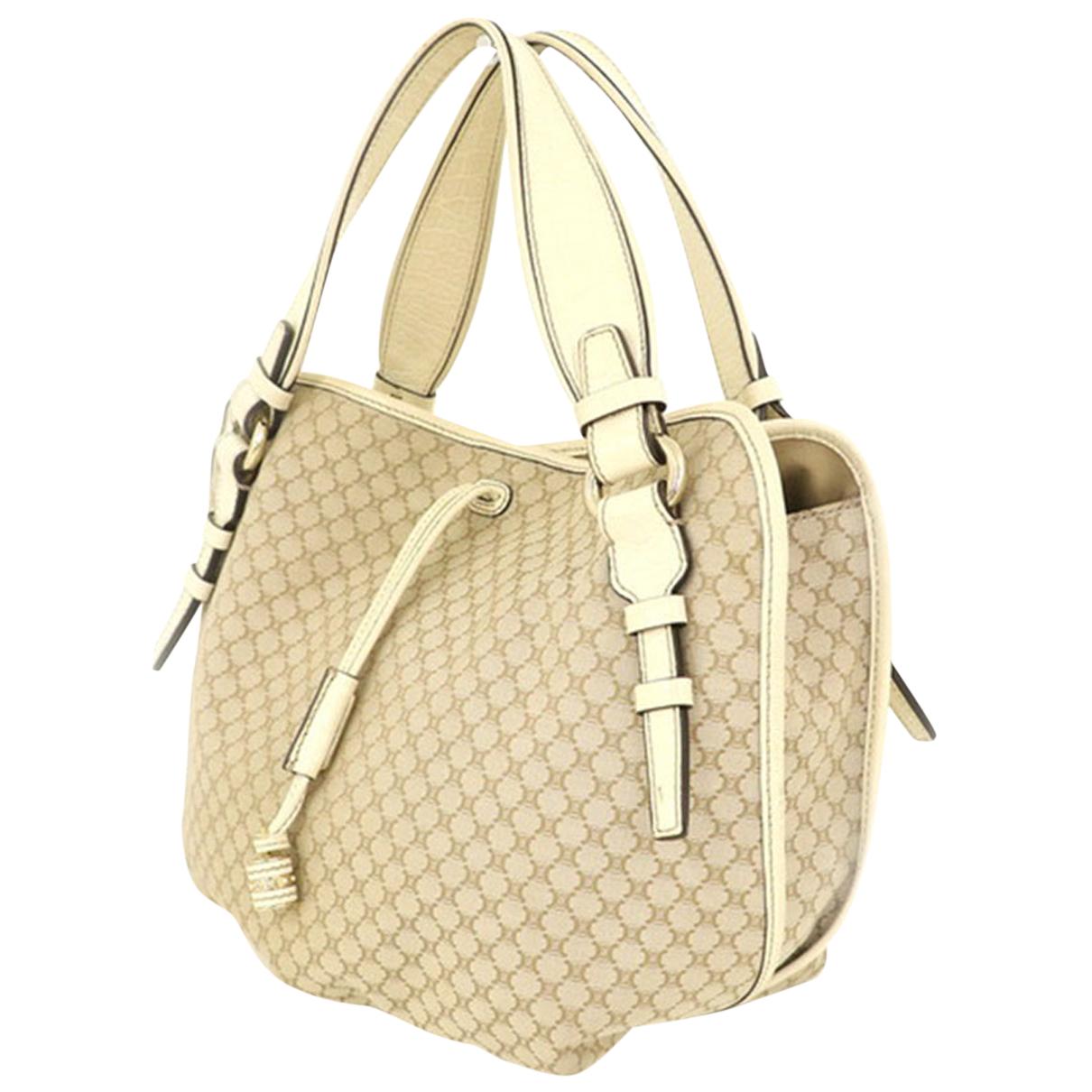 Celine N Beige Leather handbag for Women N