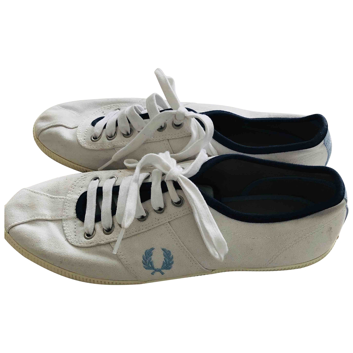 Fred Perry \N White Cloth Trainers for Men 42 EU