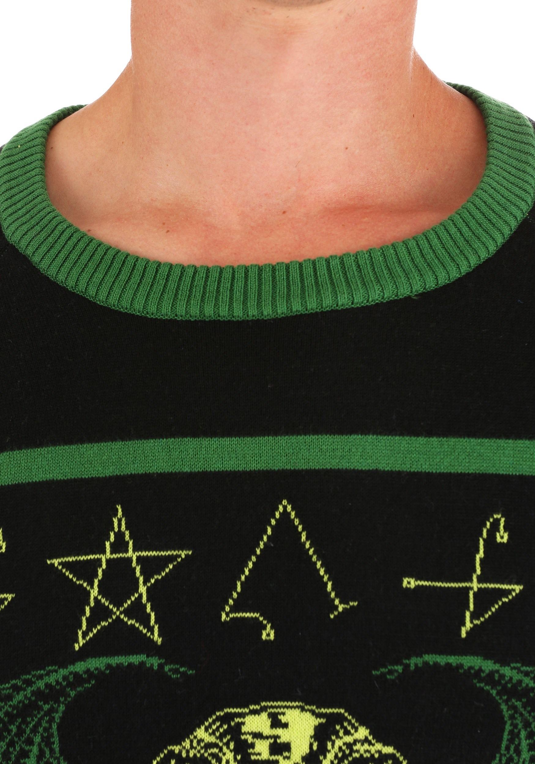 Rage of Cthulhu Adult Halloween Sweater