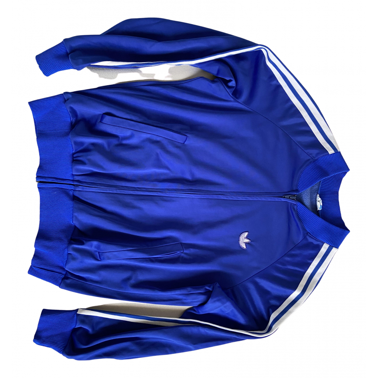 Adidas \N Pullover.Westen.Sweatshirts  in  Blau Synthetik