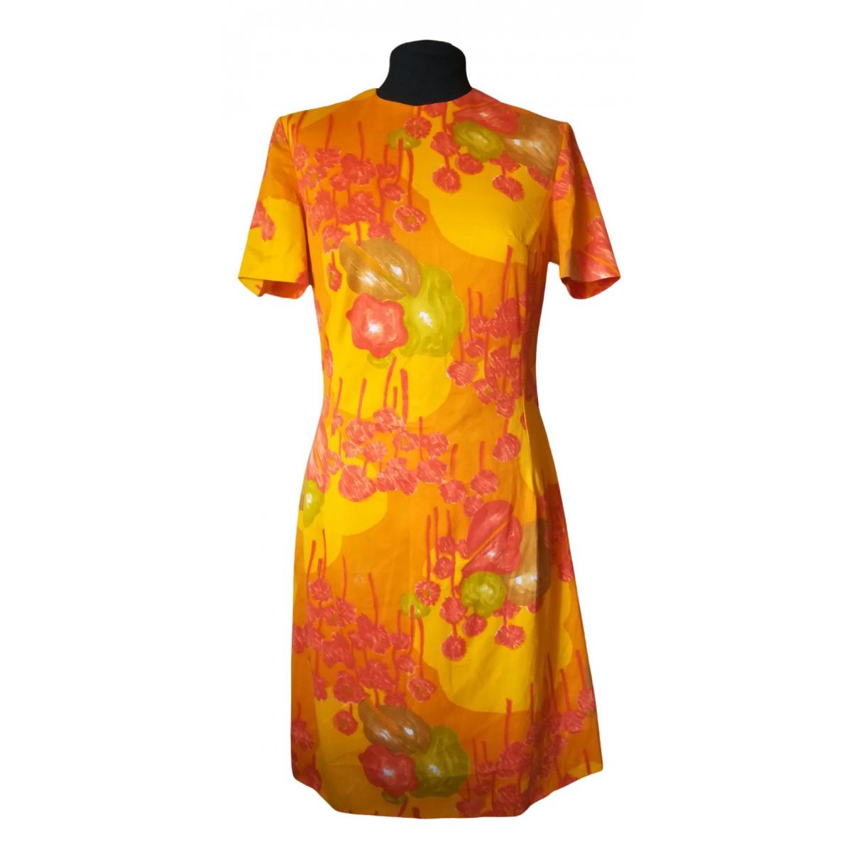 - Robe Hippie Chic pour femme en coton - orange