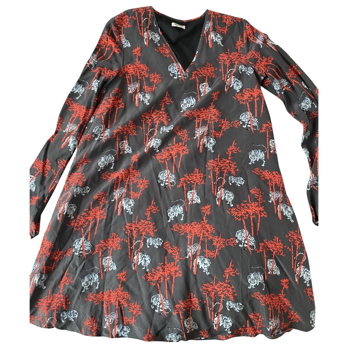 Kenzo N Multicolour Silk dress for Women 34 FR