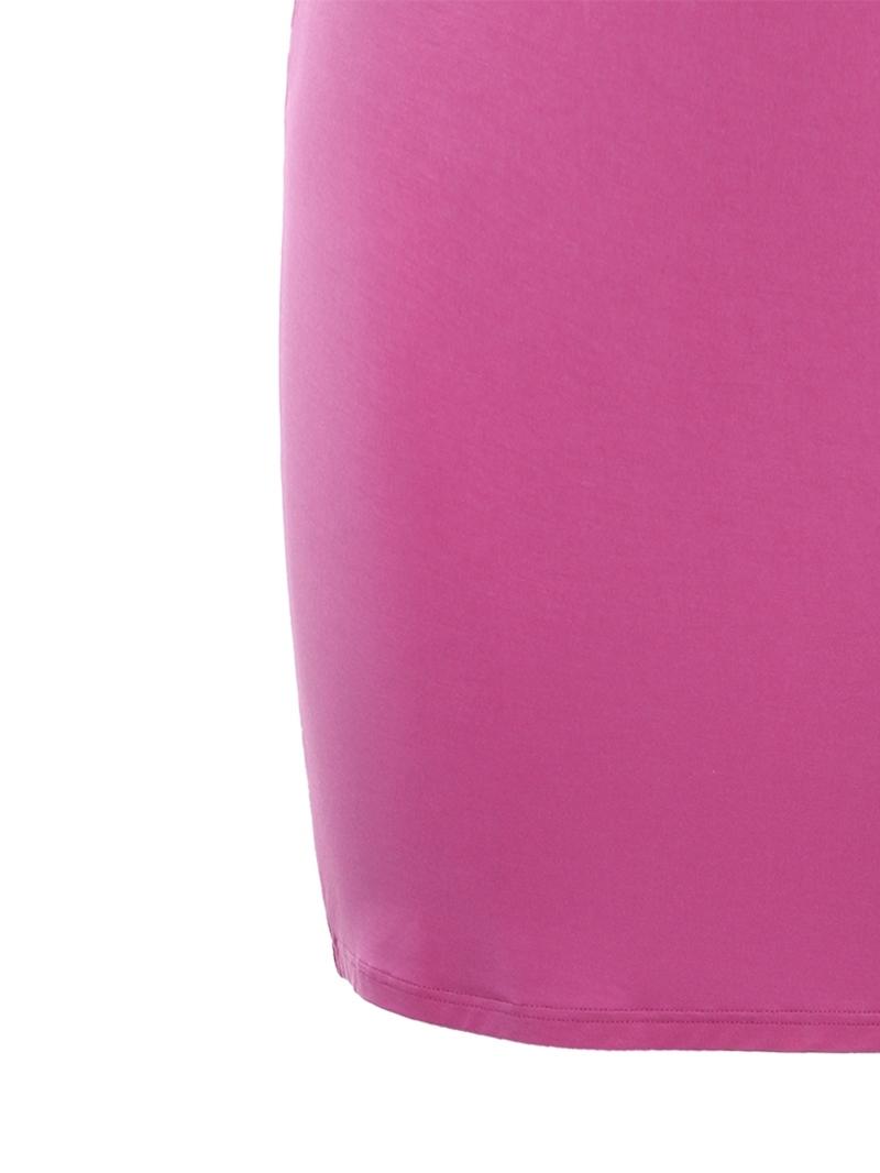 Ericdress Round Neck Sleeveless Knee-Length Plain Sheath Dress