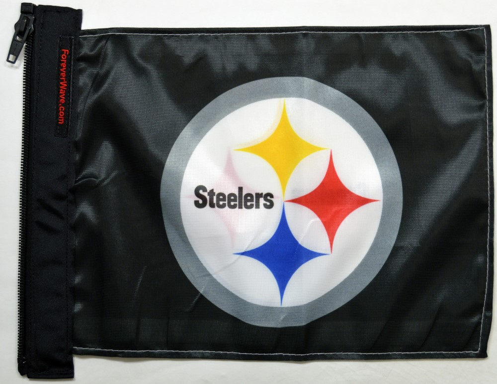 Forever Wave 5186 Pittsburgh Steelers Flag