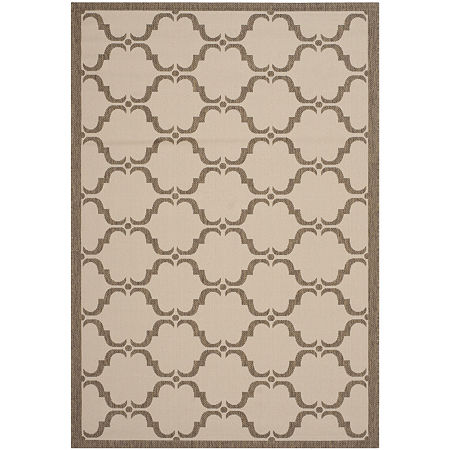 Safavieh Courtyard Collection Jobeth Geometric Indoor/Outdoor Area Rug, One Size , Multiple Colors