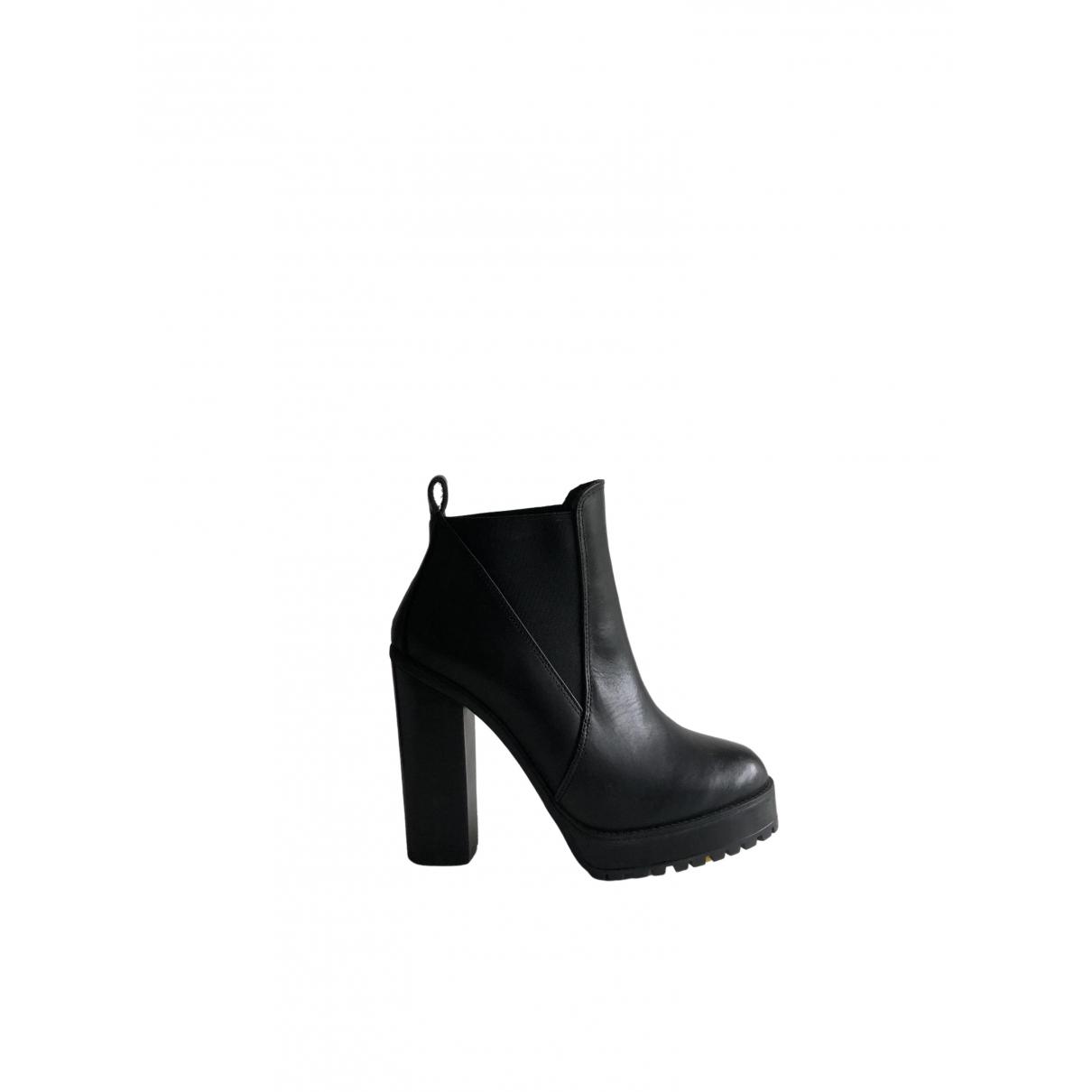 Kurt Geiger \N Black Leather Boots for Women 37 EU