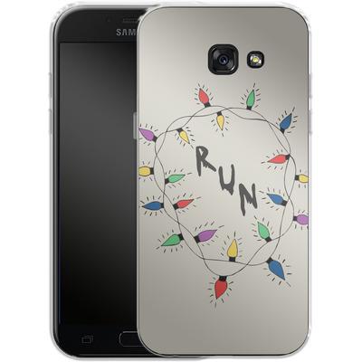 Samsung Galaxy A5 (2017) Silikon Handyhuelle - RUN von caseable Designs
