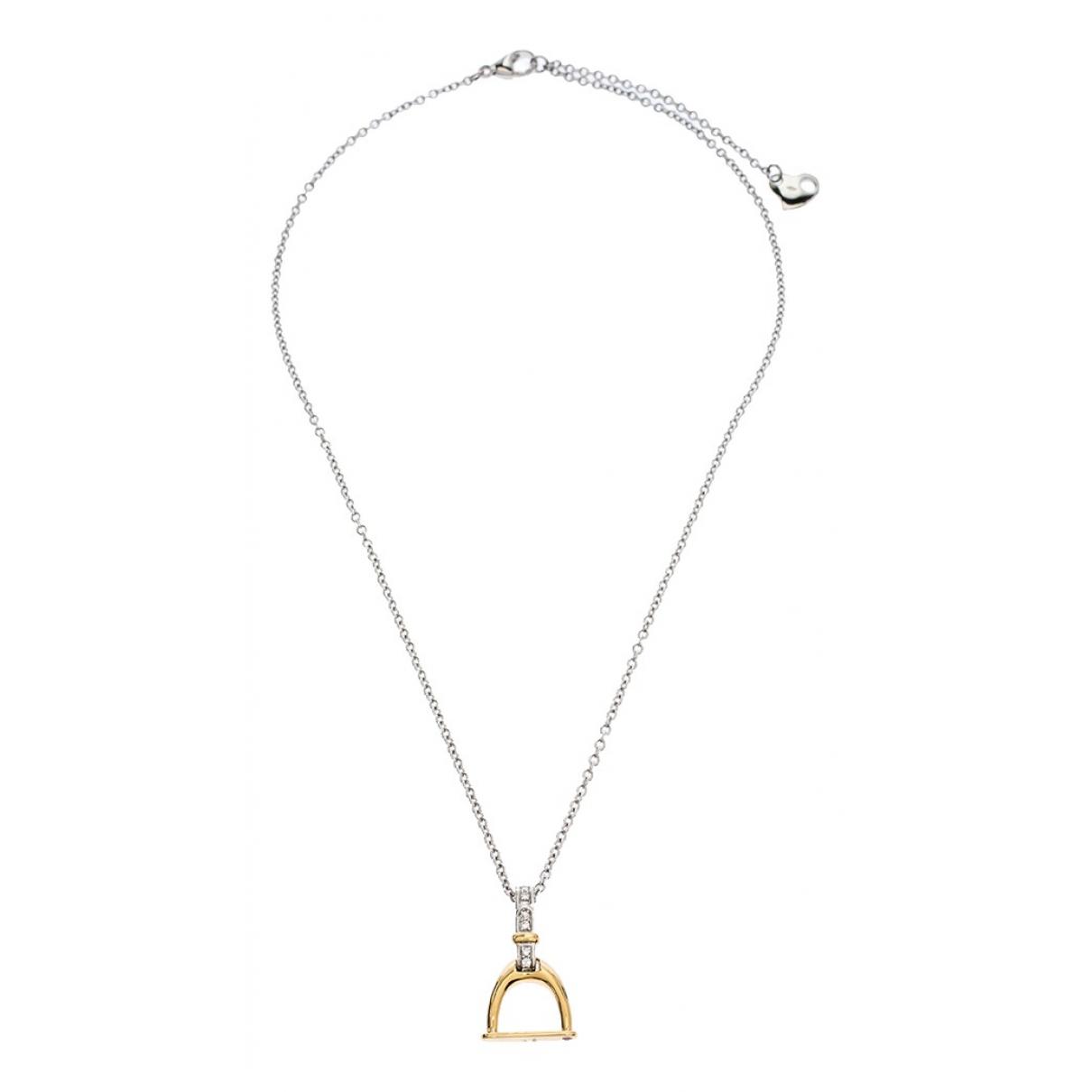 Roberto Coin - Collier   pour femme en or blanc - argente
