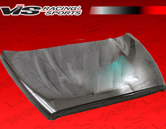 VIS Racing 02DGRAM2DOE-010C OEM Style Black Carbon Fiber Hood Dodge Ram 02-08