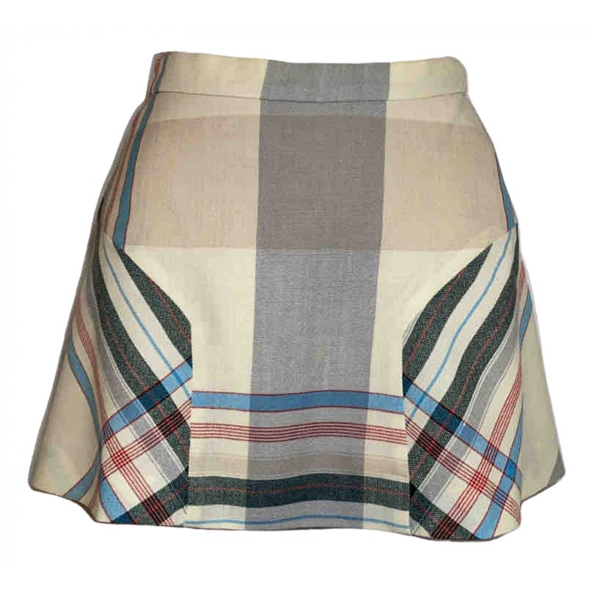 Vivienne Westwood - Jupe   pour femme en laine - beige