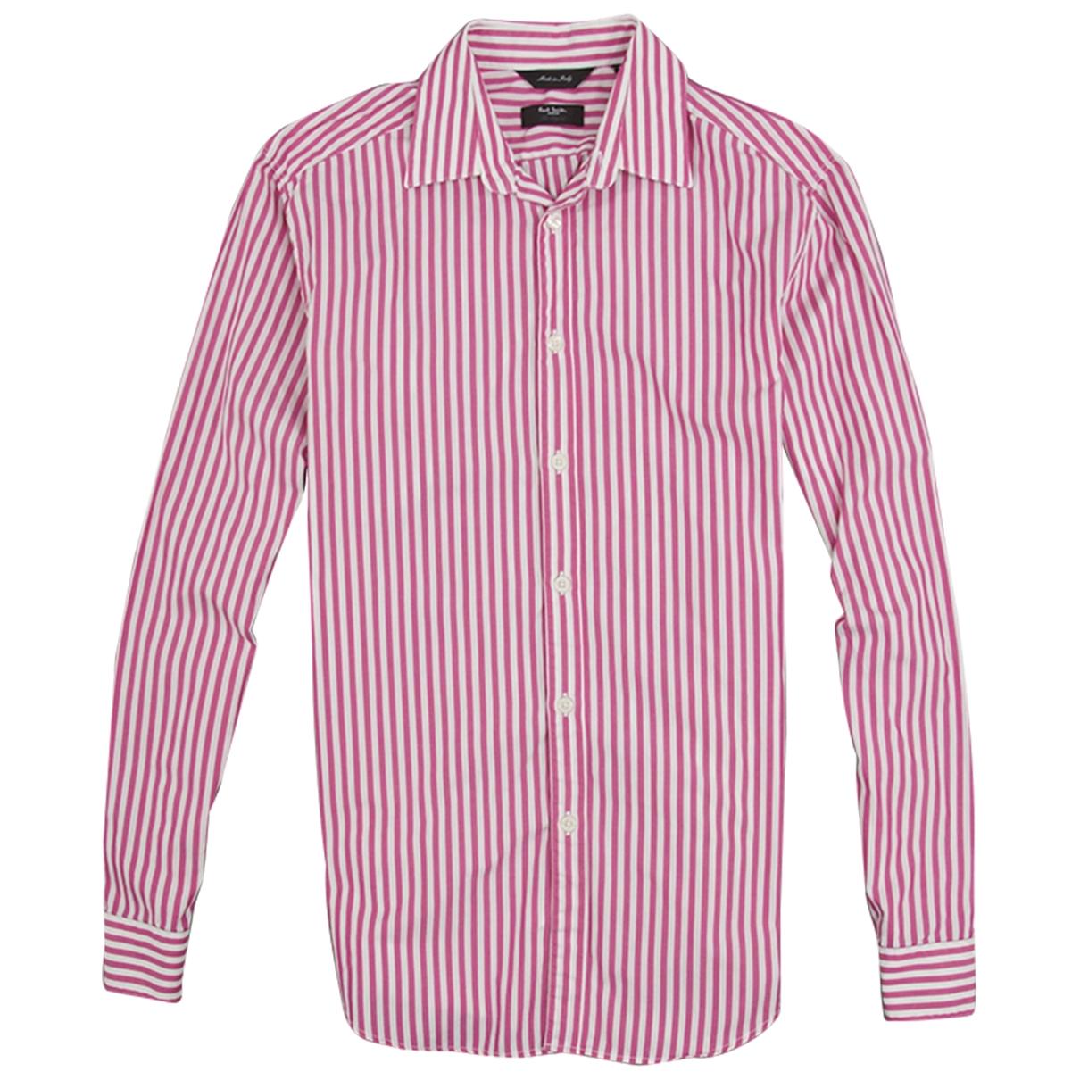 Paul Smith \N White Cotton Shirts for Men 38 EU (tour de cou / collar)