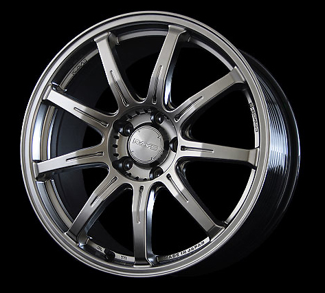 Rays Shining Silver G-Games SOG Wheel 18x7.5 5x112 48mm