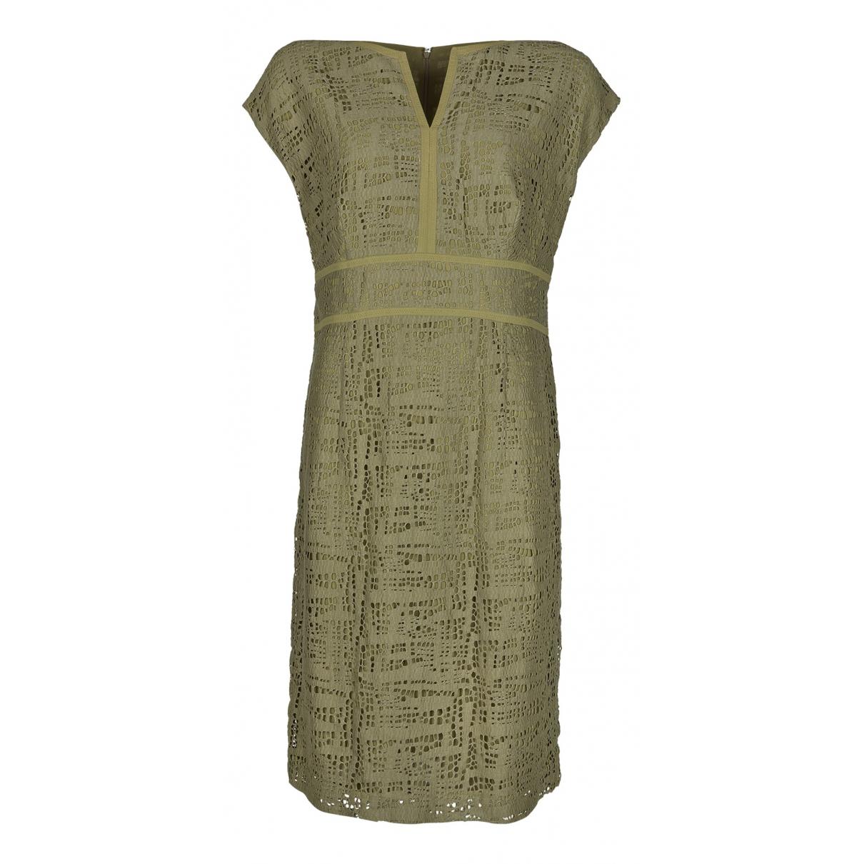 Escada - Robe   pour femme en coton - vert