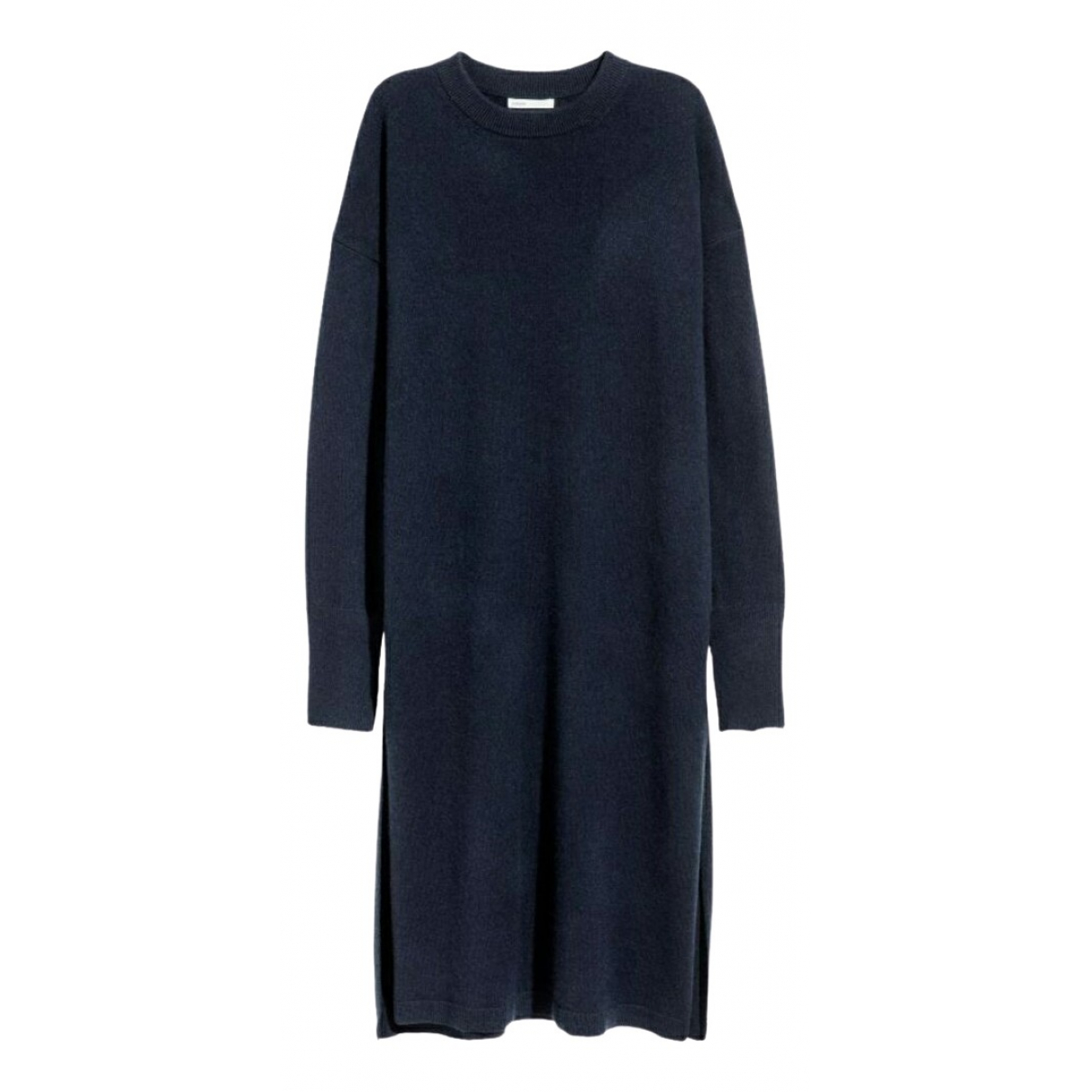 Non Signe / Unsigned \N Kleid in  Blau Kaschmir