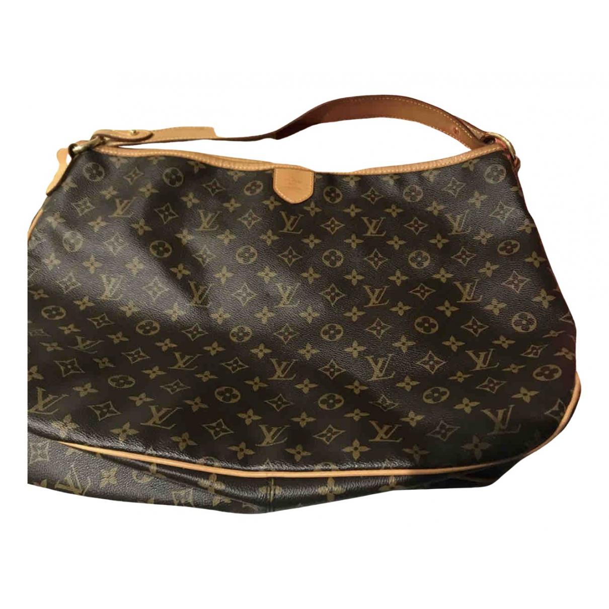 Louis Vuitton Delightful Brown Cloth handbag for Women N