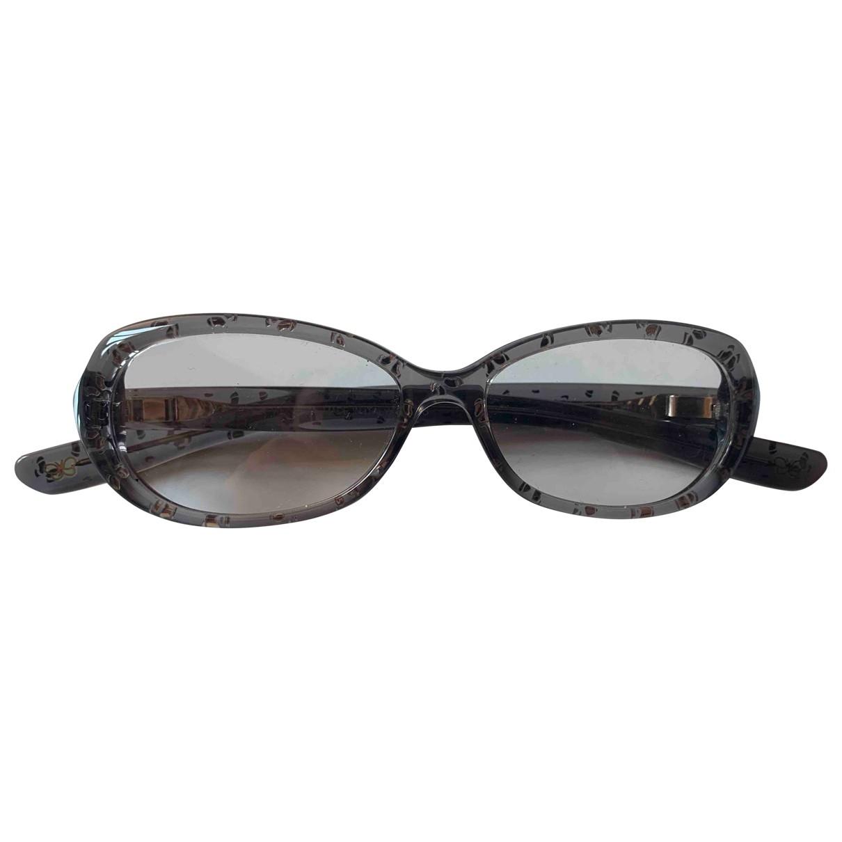Bottega Veneta \N Sonnenbrillen in  Grau Kunststoff