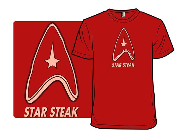Star Steak T Shirt
