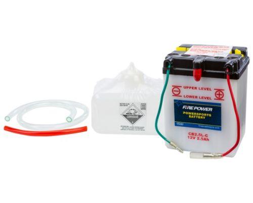 Fire Power Parts 490-2140 Battery W/Acid Cb2.5l-C 12v Heavy Duty 490-2140